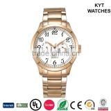 KYT time week easy to read 10atm chronograph 10 years factory new best selling product shenzhen watch