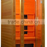 2015 Cheap Price Prefabricated Wooden Holland Spa sauna room Ceramic heaters Far infrared Sauna room