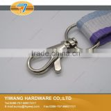 hot sale metallic color swivel zinc alloy key ring snap hook for ladies wallets