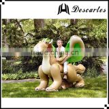 Australia 0.18mm PVC large inflatable water zenith dragon for kids play