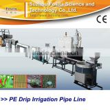 PE Inline Drip Irrigation Agriculture Plastic Pipe Making Machine