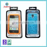 retail phone case small pvc plastic clear blister packing