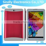 7 inch 3G city call Tablet PC with high quality metal case