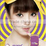 wholesale korea GEO angel color CM 9 series/ cheap colored contact lenses circle lens