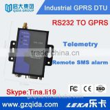 Qualband gsm gprs modem with rs232 /rs485, data terminal unit(DTU) fof meter reading, sms controller