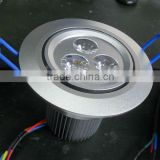 3*3W addressable DMX RGB Ceiling lamp;DC12V input;can be controlled by dmx controller directly