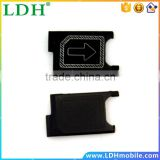 New For Sony Z3 Mini Compact D5803 D5833 Micro Sim Card Holder Slot Tray Replacement Part, Black Color