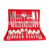 IndianArtVilla Handmade Best Quality Silver Plated 27 Piece Cutlery Set - Kitchen Dining Home Decorate Gift Item