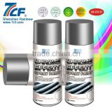 2015 High Quality Rainbow Fine Chemical Brand 7CF 400ml Acrylic Aerosol Spray Paint MSDS