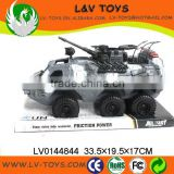 Hot-selling plastic friction tank toy military vehicle toy