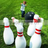 China wholesaler inflatable human bowling game Inflatable human bowling ball game