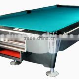Manufacturer 9ft slate billiard pool table auto ball return pool table for family use
