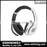 Promotion V3.0+EDR bluetooth headset with TF-card wholesale(OS-BQ968)