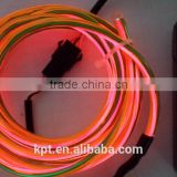 14 year factory whole sale EL wire, costume el wire, flexible neon rope, advertisement light decoration el wire