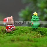 green Scrapbooking Craft supplies Resins Santa Claus Snowman Hair Bow cabochons christmas Tree african resin animal figurines