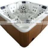 100 JETS Unique Design USA acrylic Portable outdoor spa massage bathtub for hot sell in feet price
