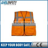 polyester mesh fabric safety vest cotton
