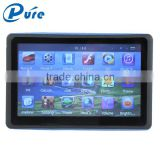 "7"" Touch Screen GPS Navigator Bluetooth AV-IN FM Latest Free Map GPS Navigator with Mini USB 5-pin Socket"