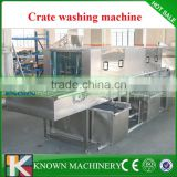 304 Stainless steel can be customized 4m plastic pallet washer machine,crate washer machine