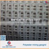 high flame retardant polyester knitted mining geo grid for Coal Mine