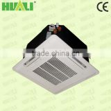 Hot selling type fan coil unit with cassette type use with hot or cooled water