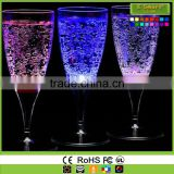 Led Light up Plastic Party Cups, Glow in the Dark Cups Milk Drinking Light cup 6 Pcs Set