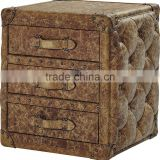 Europe style antique retro trunk living room T975#