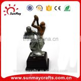 Wholesale cheap resin american football trophy for sale