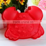 Crab Shape Silicone cake baking pan mold, baking tools for cakes,baking mold bakeware Pan