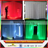 Factory Directly Inflatable Photo Booth Enclosure/ LED Photo Booth Tent With Inflatable Photo Booth