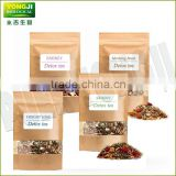World hot selling anti fat fast sliming herb tea