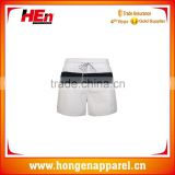 Hongen apparel 2016 stylish polyester OEM service swimwear/ sublimated printer beach short