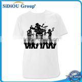Man 100% cotton wholesale rock band t-shirts