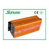 4000 Watt Full Pure Sine Wave Power Inverter , 12 Volts To 220 Volts Square Inverters