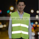 Quality Custom Printed or Embroidery sleeveless led light reflective vest
