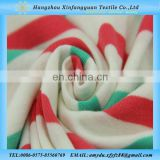 keqiao textile red green white yarn dyed cotton rib fabric 100 cotton single jersey fabric for garment wholesale