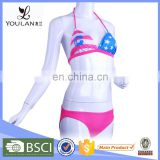 Fringe Breathable Bandeau Best Nylon Xxx Bikini Girl Swimwear Photo