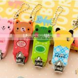 promotional creative cute animal design cartoon nail clippers for kids