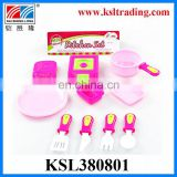 plastic toys baby cooking set toy