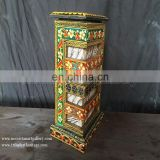 Antique Hand Painted SideTable Lamps (TL-001)