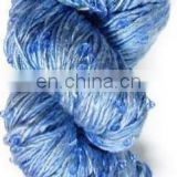 BEADED YARNS BLUE AND WHITE