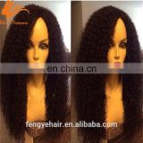 spring hot sale afro curly short human virgin full lace hair wig