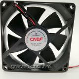 made in china yueqing with 2 lead wire connect cooling fan 92x92x25mm 24VDC 0.19A  4.56W 2800rpm TFS9225H24
