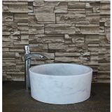 Carrara White Marble Sinks,China White Marble Bathroom Basins