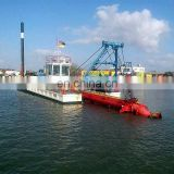 Underwater Suction Dredger With Hydraulic System