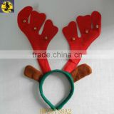 Lovely Popular Red Antler Headband with Bells Decoration
