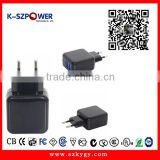 2016 G-series 10W K- 052000 5v 2a Universal 5v 2a usb wall charger for DVTB STB CCTV camera with CE UL GS