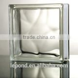 190*190*80 Clear Glass Block for kitchen /flooring