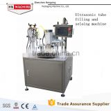 Automatic Aluminum&Plastic and Soft Tube Filling and Sealing Machine