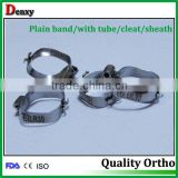 Orthodontic materials dental orthodontic 022 molar bands dental bands orthodontic products Roth dental elastic bands